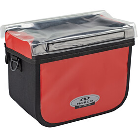Norco Yukon Handlebar Bag red/black